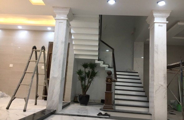 Feng shui when installing marble columns: